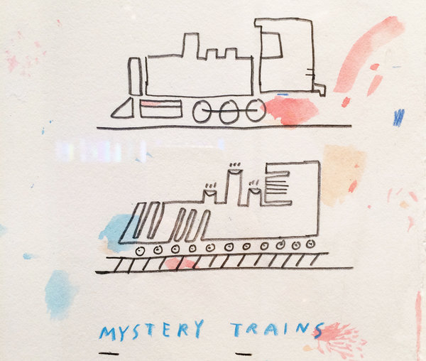 Beyond the Vanishing Point - Paintings and Drawings 2015- 2016 - mystery_trains